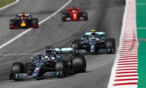 Боттас і Гамільтон - найшвидші на першій практиці в Іспанії
