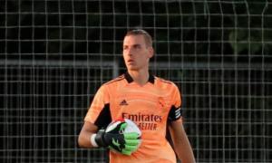 Лунін був капітаном Реала у товариському матчі