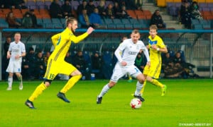 Матч Динамо - БАТЕ встановив рекорд у чемпіонаті Білорусі