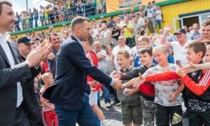 Шевченко у Прикарпатті зробив внесок у розбудову футбольної академії