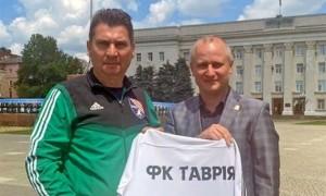 Пучков очолив сімферопольську Таврію
