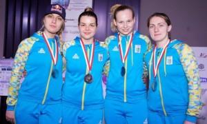 Українки здобули срібло на етапі Кубка світу в Тунісі