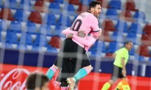 Барселона зіграла внічию з Леванте та втратила шанс очолити Ла-Лігу