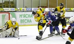 Білий Барс обіграв Крижані Вовки у першому матчі плей-оф