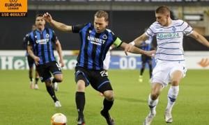 Динамо вибило Брюгге з Ліги Європи