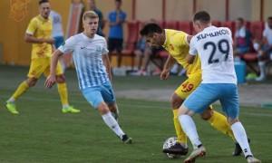 Інгулець у меншості врятувався в матчі з Минаєм у 21 турі Першої ліги