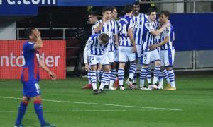 Реал Сосьєдад на виїзді здолав Ейбар у 32 турі Ла-Ліги