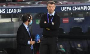 Ребров: Поважаю Луческу - це тренер ТОП-рівня