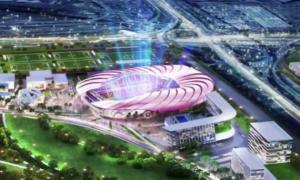 Клуб Бекхема презентував вражаючий проект нового стадіону