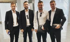 Колос та Десна зустрілися в аеропорту перед вильотом на матчі Ліги Європи