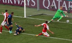 Збірна Данії програла Фінляндії на Євро-2020