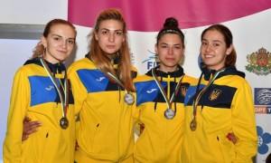 Жіноча збірна України виборола срібло на чемпіонаті Європи