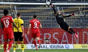 Баварія мінімально перемогла Боруссію Д у 28 турі Бундесліги