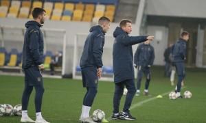 Лєднєв, Шапаренко і Попов вийдуть у стартовому складі збірної України U-21 проти Данії