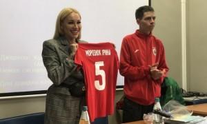 Дружина Морозюка стала президентом аматорського клубу