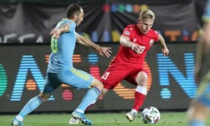 Казахстан - Білорусь 1:2. Огляд матчу