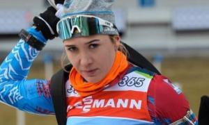 Російська біатлоністка отримала тривалу дискваліфікацію