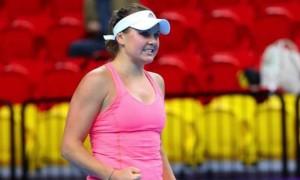 Козлова програла у чвертьфіналі на турнірі в Угорщині