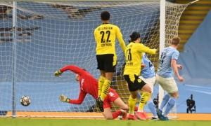 Манчестер Сіті вирвав перемогу у Боруссії Д в 1/4 фіналу Ліги чемпіонів