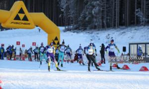 Чернігівські біатлоністи виграли естафети на чемпіонаті України