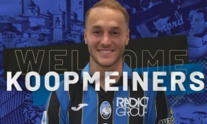 Копмейнерс став гравцем Аталанти