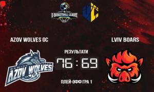 Azov Wolves переграли Lviv Boars у плей-оф чемпіонату України