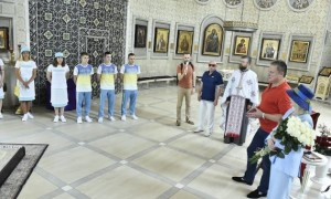 Перед вильотом до Токіо збірна України відвідала собор