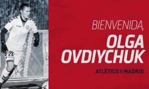 Овдійчук підписала контракт із Атлетіко