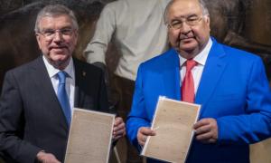 Президент МОК отримав від російського олігарха подарунок за 8,8 млн доларів
