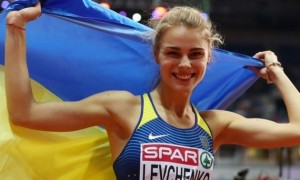 Левченко — найкраща легкоатлетка в лютому