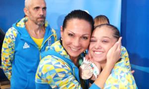 15-річна Бачинська завоювала золото Європейських ігор у вільних вправах