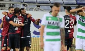 Кальярі у меншості врятувалося в матчі з Сассуоло у 34 турі Серії А