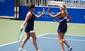Кіченок у парі із американкою вибили перших сіяних на Wuhan Open