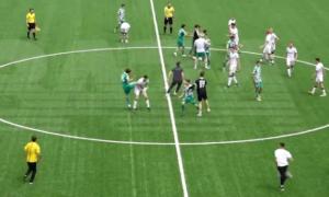 Чеченські футболісти спровокували масову бійку на матчі чемпіонату Росії