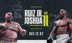 Джошуа – Руїс: де дивитися онлайн бій-реванш