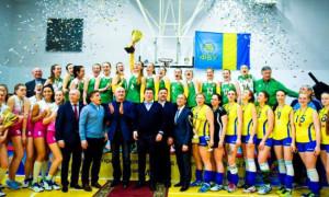 ВК Полісся став переможцем жіночої Вищої ліги України з волейболу
