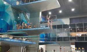 У Києві стартував чемпіонат України зі стрибків у воду