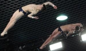Середа та Сербін вибороли олімпійську ліцензію у синхронних стрибках