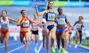 Ляхова стала третьою на чемпіонаті Європи