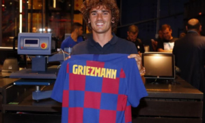 Грізманн успішно пройшов медогляд у Барселоні