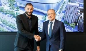 Реал продовжив контракт з Бензема