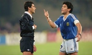 Арбітр фіналу ЧС-1990: Марадона брудно лаявся під час гімну і назвав мене злодієм