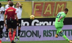 Лаціо здолало Спецію у 10 турі Серії А
