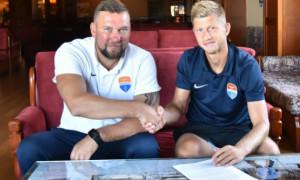 Федорчук підписав новий контракт з Маріуполем