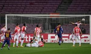 Барселона здолала Атлетік у 21 турі Ла-Ліги