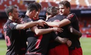 Валенсія та Реал Сосьєдад не виявили сильнішого у 30 турі Ла-Ліги