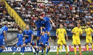 Молодіжна збірна України перемогла ровесників з Греції у контрольному матчі