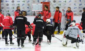 Донбас провів перше тренування на льоду