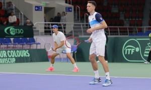 Стаховський і Молчанов здобули першу перемогу на Кубку Девіса