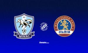 Минай - Львів: онлайн-трансляція матчу 14 туру УПЛ. LIVE